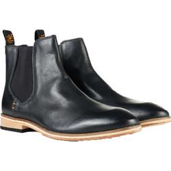 5e5acfc9311 Superdry - MF2011SR J53 - Black Leather - Premium Meteora Chelsea Boot -  Παπούτσι Ανδρικό