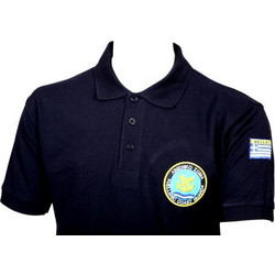 1176907a6888 Μπλουζάκι Polo Μακρυμάνικο Λιμενικού JHK - Μπλε