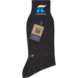 Πουρνάρα Ανδρική Κάλτσα Μάλλινη Κλασική Γκρι Μεσαίο 158 496dda8d839
