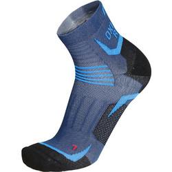 MICO 1272 Oxi-Jet Compression short Running socks - Dark Lake fc138d7852c