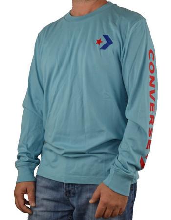f6281261d50b μπλουζες ανδρικες μακρυμανικες φθηνες Converse · CONVERSE ΑΒΔΡΙΚΗ ΜΠΛΟΥΖΑ  ΜΑΚΟ ΜΑΚΡΥΜΑΝΙΚΗ ΓΑΛΑΖΙΟ 10006013 447