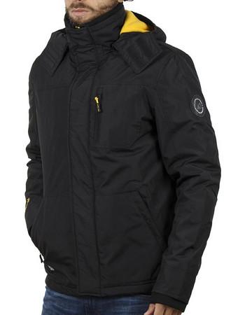 da52bac17b2 Ανδρικό Μπουφάν Jacket με Κουκούλα ICE TECH G612 Μαύρο