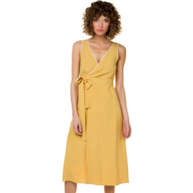 4e57144403b1 Κρουαζέ λινό φόρεμα - ΩΧΡΑ
