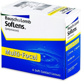 Bausch & Lomb Soflens Multifocal 6Pack Μηνιαίοι