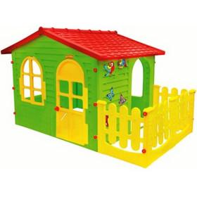 b404f0944066 Σπιτάκι κήπου Garden House Mochtoys Με Φράχτη 10498