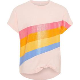 b3dfebc26ba Name It Παιδικό T-shirt με τύπωμα Ουράνιο Τόξο - 13163675 - Ροζ