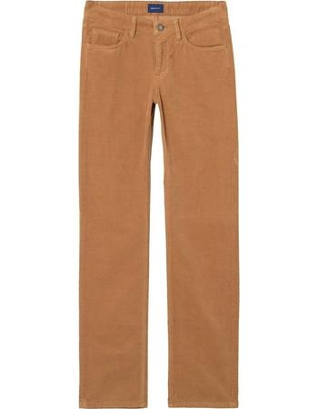 034ff153815f Gant γυναικείο κοτλέ παντελόνι Straight Cord - 4100057 - Ταμπά