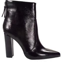 c4009cf7831 Exe Shoes Γυναικεία Παπούτσια Μποτάκια ALIN-944 Μαύρo Βερνί 50163