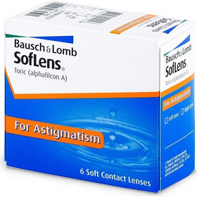 Bausch & Lomb Soflens Toric 6Pack Μηνιαίοι