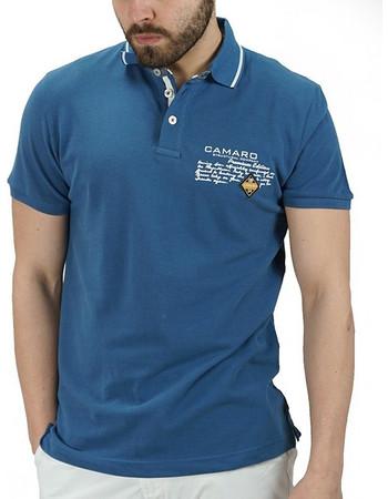 0a8bb2148df2 μπλουζα blue - Ανδρικές Μπλούζες Polo Camaro