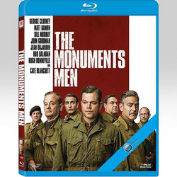 THE MONUMENTS MEN - ΜΝΗΜΕΙΩΝ ΑΝΔΡΕΣ (BLU-RAY) - ODEON