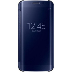 Samsung Clear View Cover Black (Galaxy S6 Edge)