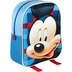 c6867d1fd7 Disney Σχολική τσάντα 3D με φερμουάρ και ρυθμιζόμενους ιμάντες με θέμα  Mickey Mouse - Disney