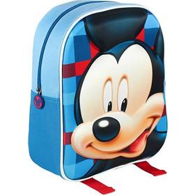 e5ce191ca3 Disney Σχολική τσάντα 3D με φερμουάρ και ρυθμιζόμενους ιμάντες με θέμα Mickey  Mouse - Disney
