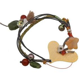 Krini Ασημένιο βραχιόλι καρδιά με μαργαριτάρια 3926b72b280