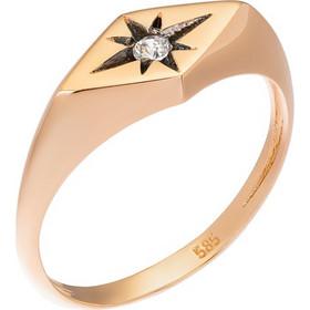Δαχτυλίδι από ροζ χρυσό 14 καρατίων με σχέδιο αστεριού διακοσμημένο με  ζιρκόν. BD29176 0b3dc299d4f