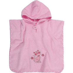 a4a88fabb9e Παιδικό Poncho Das Home Baby Smile Embroidery 6541 45x90
