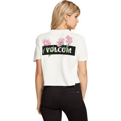 4f8e26110382 VOLCOM STONE GROWN CROPPED TOP ΓΥΝΑΙΚΕΙΟ B3511908-WHT (WHT WHITE)