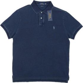 936d919d8002 Polo Ralph Lauren Short Sleeve Knit 710-680784 Σκούρο Μπλε