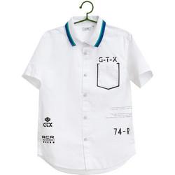 5f0a86a9097 Παιδικό πουκάμισο με letter print (9-14 ετών) OVS - 000180996 - Λευκό