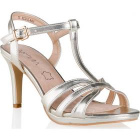 ασημενια παπουτσια - Γυναικεία Πέδιλα Envie Shoes  6f3d91a3081