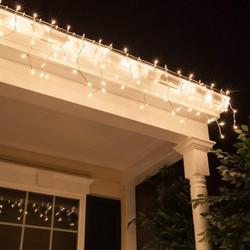 1430a16144 Χριστουγεννιάτικη κουρτίνα 3 μέτρων με 70 λαμπάκια Led θερμού φωτισμού