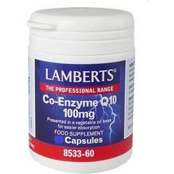 Lamberts Co-Enzyme Q10 100mg 30s