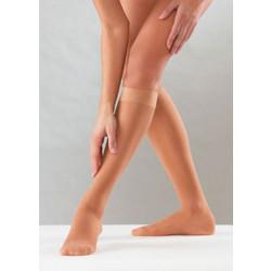 Ελαστικές κάλτσες κάτω γόνατος 40 den mm Hg 6-10 Sanyleg 0e80d4589f4