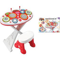f36c81aa87b MG toys ΠΑΙΔΙΚΟ ΣΕΤ DRUMS BEAT BOP SUPER STAR DRUM SET (410095)