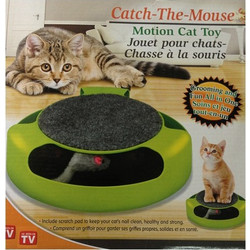 7c2a545187f8 Catch the Mouse Motion Cat Toy Pet Gift (oem)