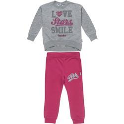 Alouette Five Star παιδικό σετ φόρμας φούτερ και παντελόνι με letter print  - 00230550 - Φούξια 56597f13fef