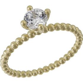 Μονόπετρο Κ14 ανάγλυφο με ζιργκόν πέτρα 031703 031703 Χρυσός 14 Καράτια 42691dc05e7
