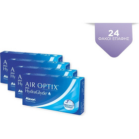 e969f10d54 Alcon   Ciba Vision Air Optix Plus Hydraglyde 4x6Pack Μηνιαίοι