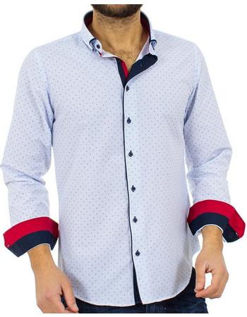 b2de968308d2 Ανδρικό Μακρυμάνικο Πουκάμισο Slim Fit CND Shirts 2750-5 Γαλάζιο
