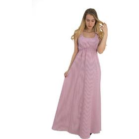0aeb3c42eb31 Γυναικείο Maxi ριγέ φόρεμα Coocu κόκκινο χιαστί πλάτη 92381C