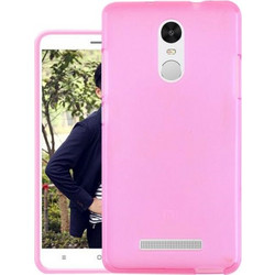 Xiaomi Redmi Note 4 Case Ultra Thin Soft Gel TPU Silicone Case Cover For Xiaomi Redmi Note 4 Hot Pink Oem
