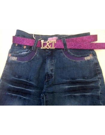 Παιδικό Jean παντελόνι με Ζώνη 1062B-8110 3cd1f3ee685