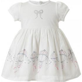 d23de9193ace Βρεφικό Φόρεμα Energiers 14-217400-3 Λευκό Κορίτσι