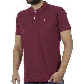 8156be04e99f Ανδρικό Κοντομάνικη Μπλούζα με Γιακά Polo Garage55 GAM202-11119 Cherry
