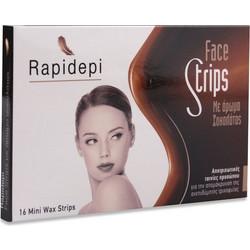 Vican Rapidepi Face Strips Αποτριχωτικές Ταινίες Προσώπου 16 Τμχ. Αφαιρούν  την ανεπιθύμητη τριχοφυΐα από την c5d685c5c46