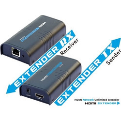 Power Plus EXT120 HDMI Extender 120μ 1x UTP CAT5e/6 καλώδιο 1080P συμβατό με HDMI 1.3, HDCP 1.2
