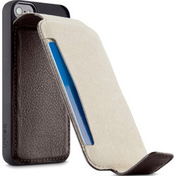 Belkin Leather Snap Folio Dark Brown (iPhone 5/5S)