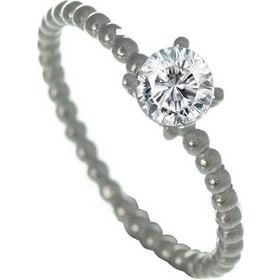 Μονόπετρο δαχτυλίδι ασημένιο με πέτρα ζιργκόν 5927a56197a
