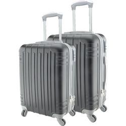 9dbd88e5dc Σετ 2 Βαλίτσες Καμπίνας ABS με Τηλεσκοπικό Χερούλι