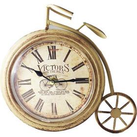 Διακοσμητικό Μεταλλικό Ρολόι Vintage Rustic σε σχήμα Ποδηλάτου Αντίκα σε 3  χρώματα 26χ23cm Μπεζ - Cb eb731ec4137
