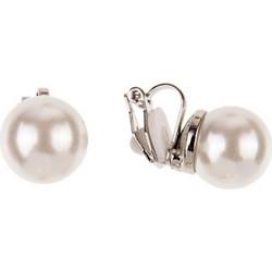 classic pearl σκουλαρίκια με κλιπ double cream   white ce48070e97c