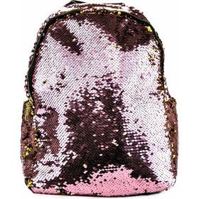 9df38bb8cf Ροζ Σακίδιο Πλάτης με Παγιέτες Ρόζ Silia D