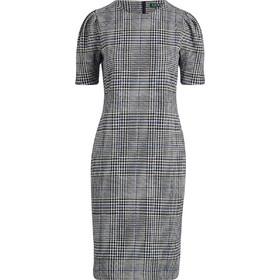 ca99ed577e1 Lauren Ralph Lauren γυναικείo καρό φόρεμα με φουσκωτά μανίκια -  200726324001 - Γκρι