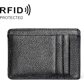 d9b31e2b42 Antimagnetic RFID Litchi Texture Leather Card.