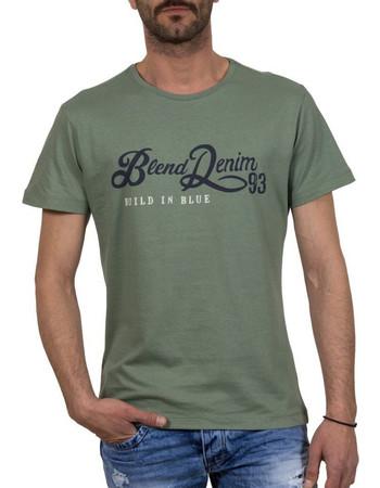 6f2f161225c7 Ανδρικό Κοντομάνικη Μπλούζα T-shirt BLEND 20702942 Χακί